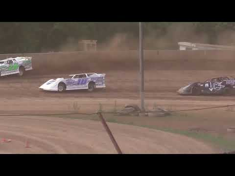 The Late Model Feature from the Legendary Hilltop Speedway near Marietta, Ohio on 5-20-18. www.OVDTR.com - dirt track racing video image