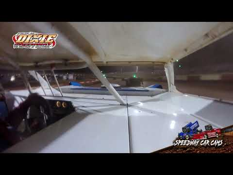 #21 Randy Smith - Dixie Speedway 5-1-21 - Econo Late Model - In-Car Camera - dirt track racing video image