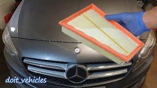 Sostituzione filtro aria Mercedes Classe A W176