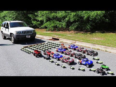 How Many Toy Cars Does It Take To Pull A Real Car? - UCX6OQ3DkcsbYNE6H8uQQuVA