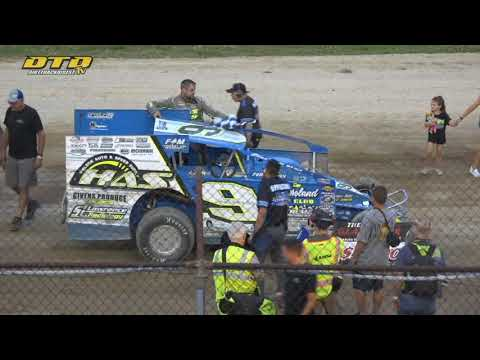 Genesee Speedway   The Gladiator MMXXI Modified Feature Highlights   7/15/21 - dirt track racing video image