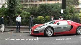 A Day In London - Supercars - Arab LP670-4 SV, Hamann Tycoon, Novitec Race +