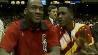 Here is why Jordan scored 61 points on Dominique Wilkins Hawks