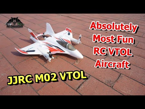 JJRC M02 VTOL RC Plane Flight Test at RC Airport - UCsFctXdFnbeoKpLefdEloEQ