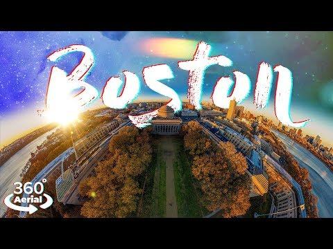 Fly over Boston in 360 | Shot on GoPro MAX 5.6K