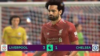 Liverpool vs Chelsea   Premier League Gameplay   FIFA19