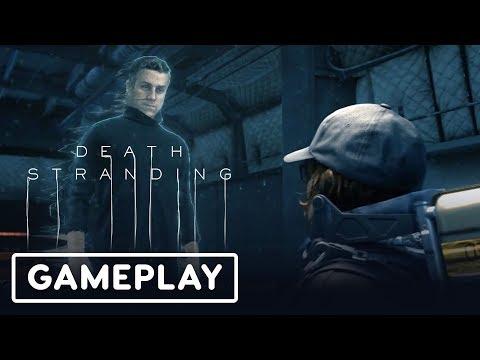 Death Stranding Gameplay Demo With Hideo Kojima (Geoff Keighly + Peeing) - Gamescom 2019 - UCKy1dAqELo0zrOtPkf0eTMw