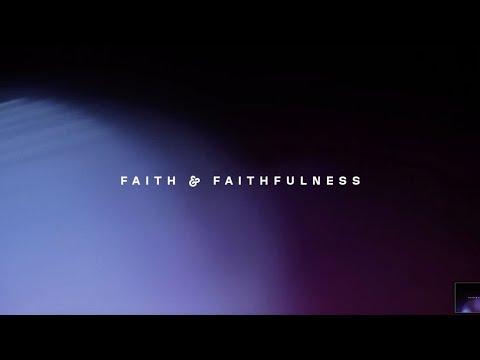 Faith & Faithfulness (Lyric Video) - New Wine Worship