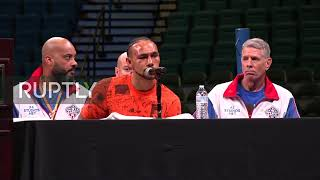 LIVE: Pacquiao vs Thurman fight for WBA championship – post-fight press conference