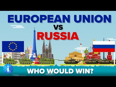 European Union (EU) vs Russia 2017 - Who Would Win - Army / Military Comparison - UCfdNM3NAhaBOXCafH7krzrA