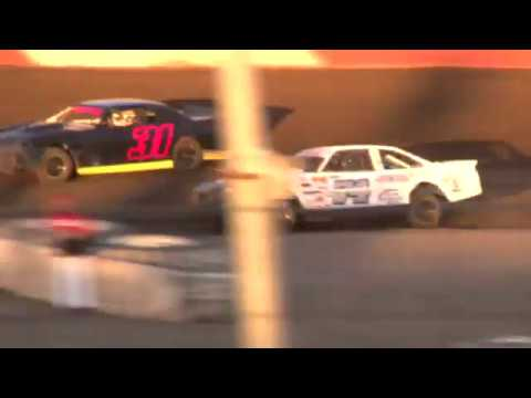Perris Auto Speedway 1-13-18 Street Stock Main Event - dirt track racing video image