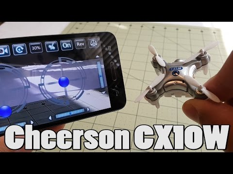 Cheerson CX-10W Review (from Banggood) - UCnJyFn_66GMfAbz1AW9MqbQ