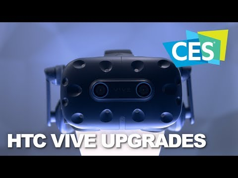 CES 2019: HTC Upgrades VR With The VIVE Pro Eye and VIVE Cosmos - UCJ1rSlahM7TYWGxEscL0g7Q