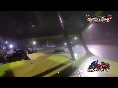 #14 Aaron Johns - USRA B Mod - 8-20-2021 Dallas County Speedway - In Car Camera - dirt track racing video image