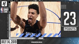 Brandon Clarke Full Highlights Grizzlies vs Pelicans (2019.07.14) Summer League - 23 Pts, 14 Reb!