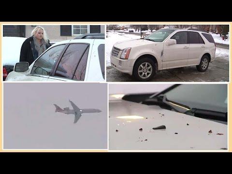 Máy bay xả phân người xuống nhà dân ở Utah