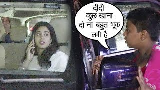 Beggar Asks For Food From Sridevi's Daughter Jhanvi Kapoor..What Happens Next Will Melt Ur Heart