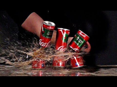 Разрезаем Кока Колу в СЛОУ МО / Тимур Сидельников Slow MO Coca-Cola - UCen2uvzEw4pHrAYzDHoenDg