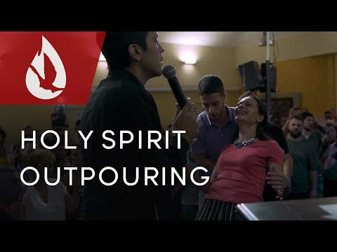Holy Spirit Outpouring in Italy  David Diga Hernandez