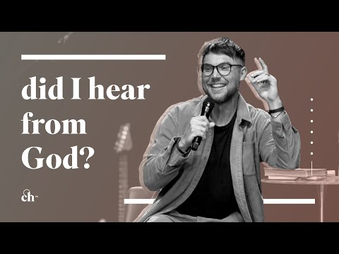 I Think I Heard From God?! // Judah Smith