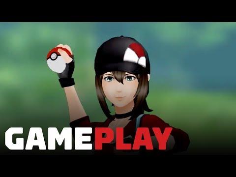 Pokemon Go: 6 Minutes of PVP Trainer Battle Gameplay - UCKy1dAqELo0zrOtPkf0eTMw