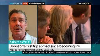 Brexit Battle: Alex de Ruyter, Birmingham City University.