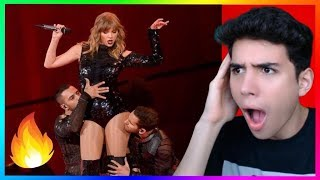 I Did Something Bad Live 2018 AMA Reaction (Shocked)