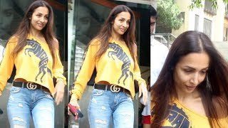Malaika Arora Spotted At Freeda Beauty E Salon Bandra