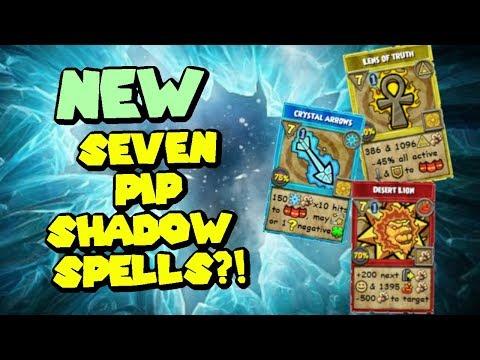 Wizard101: New Seven Pip Shadow Spells! - VidVui