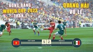 PES 19 | FIFA WORLD CUP 2022 | VÒNG BẢNG TRẬN 1 | VIET NAM vs MEXICO - Giấc mơ Bóng Đá VIỆT NAM