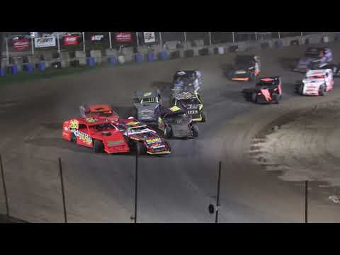 Open Mods A-Feature at Crystal Motor Speedway. Michigan on 09-05-2021!! - dirt track racing video image