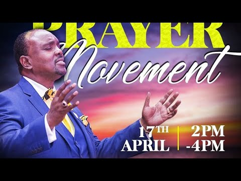 Jubilee Christian Church Live Friday Prayer Movement- 17th April 2020