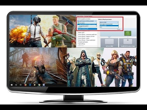 Set Nvidia As Default Graphic for your Games & Display