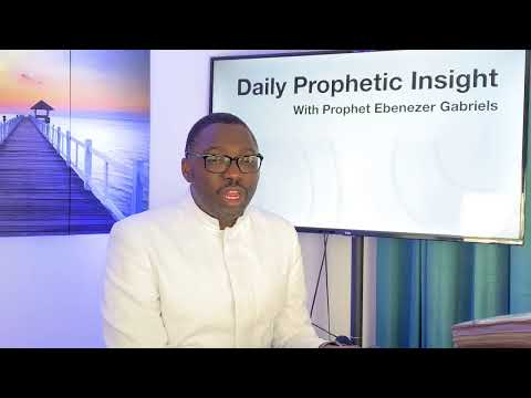 Prophetic  Insight  Aug 4th, 2021