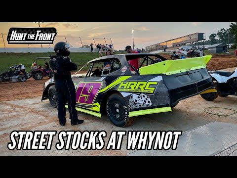 Joseph Goes Street Stock Racing at Whynot Motorsports Park! - dirt track racing video image