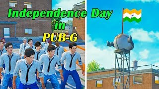 Independence Day in PUBG | PUBG Mobile Flag Hoisting | PUBG Short Film