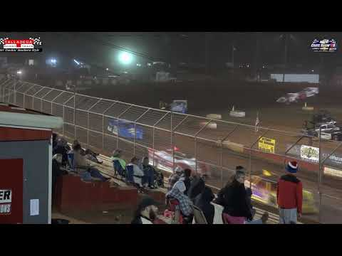 Crate Racin' USA Dirt Late Model Touring Series Feature Event from Talladega Short Track 10/02/2020 - dirt track racing video image