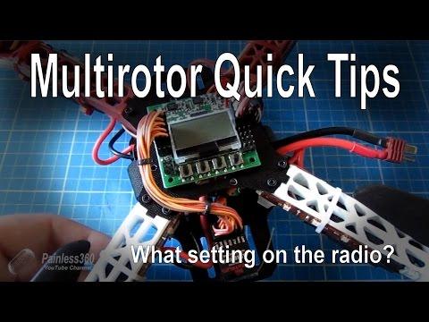 Multirotor Quick Tip: Radio settings - HELI or ACRO? - UCp1vASX-fg959vRc1xowqpw