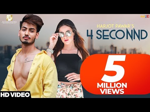 4 SECONND LYRICS - Harjot Pawar | Punjabi Song