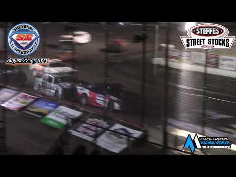 Sheyenne Speedway WISSOTA Street Stock A-Main (8/22/21) - dirt track racing video image