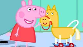 Peppa Pig Full Episodes   Horsey Twinkle Toes   Cartoons for Children