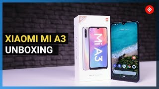 Xiaomi Mi A3 unboxing: Android One with 48MP camera