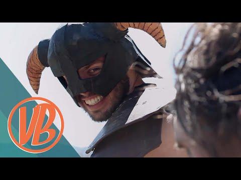 Skyrim IRL: Dovahkiin vs  the Bandit Marauder (VideoBakery