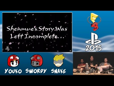 SMYN Reacts: Shenmue III at E3 2015