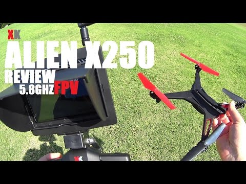 XK ALIEN X250 5.8GHZ FPV Quadcopter Review - [Flight Test, Pros & Cons, Mods!] - UCVQWy-DTLpRqnuA17WZkjRQ