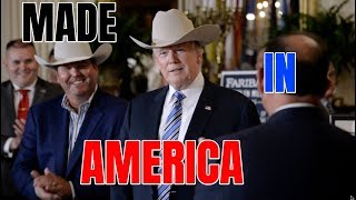 MADE IN AMERICA: President Trump VITAL Speech showcasing American Made Products at the White House