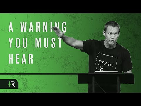David Platt // A Warning You Must Hear