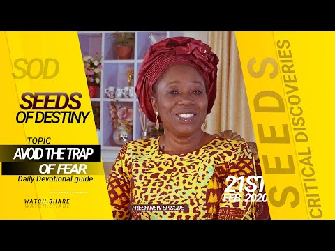 Dr Becky Paul-Enenche - SEEDS OF DESTINY - FRIDAY 21ST FEBRUARY, 2020