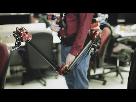 CMU builds a backpack with a robotic arm - UCCjyq_K1Xwfg8Lndy7lKMpA