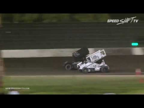 The second night of the Louie Vermeil Classic at Calistoga Speedway had the best of the King of the West by NARC Fujitsu Sprint Car Series in action on the historic half-mile. This one was dominated by .... watch the video to find out. Enjoy! - dirt track racing video image